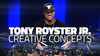 Tony Royster Jr: Creative Concepts - Drum Lesson (Drumeo)