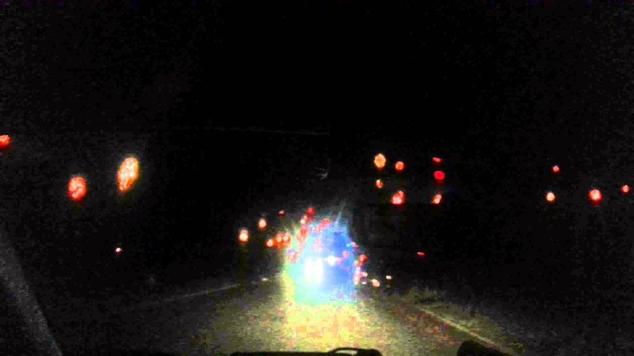 Christmas ball lights in Greensboro NC - YouTube