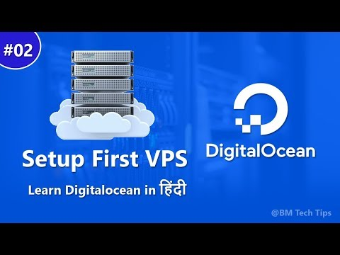 02 - How to Setup First VPS On DigitalOcean - BM Tech Tips - 동영상