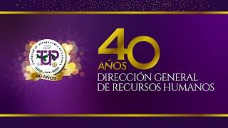 """Video - Reportaje """"40 Años de la Dirección General de Recursos Humanos"""""""