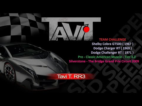 Real Racing 3 Team Challenge Using Bug - Any Car - Elimination On Any Silverstone Circuit