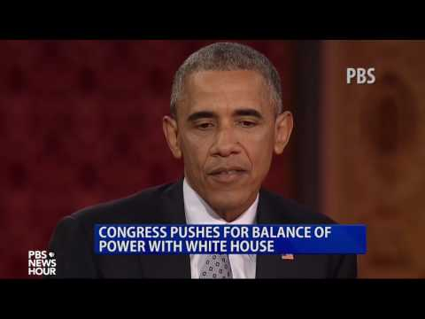 Congress Pushes for Balance of Power with White House