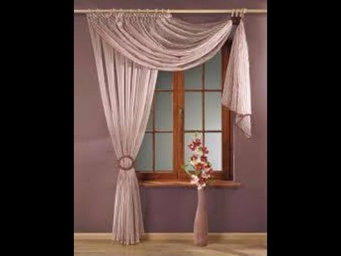 Como hacer cortinas para sala youtube for Cortinas de visillo para salon