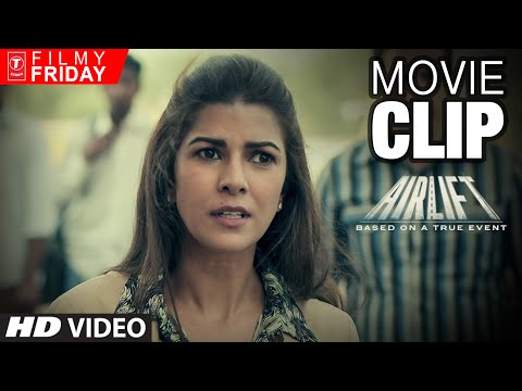 AIRLIFT MOVIE CLIPS 5 - Nimar Kaur Defends Her...