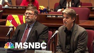 Arizona 'Audit' Flop Fails Trump; Furthers Republican Degradation Of Democracy
