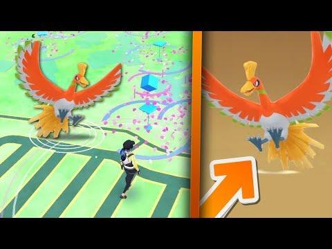 Pokemon Go HO-OH - Kolejny LEGENDARNY POKEMON! Niebawem!