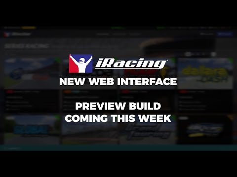 Make A Preview of iRacing's New UI: Coming This Week Pictures