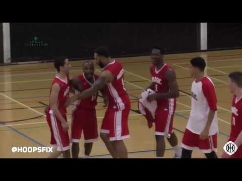 Stefan Gill INSANE Clutch Play For Manchester Magic Vs Solent Kestrels! Back To Back Threes To Win!