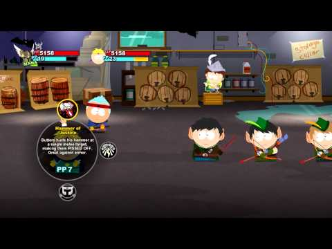 South Park™- The Stick of Truth™ - Giggling Donkey Gameplay Trailer [UK]