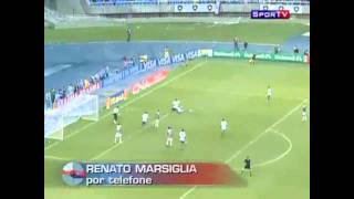 Renato marsiglia analisa pênalti marcado a favor do fluminense contra o goiás