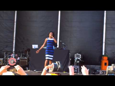 Azealia Banks - Ice Princess @ Bilbao BBK Live 2015