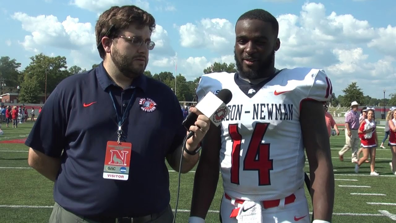 Carson Newman Football Derrick Evans Recaps Newberry 9 22 18 Youtube