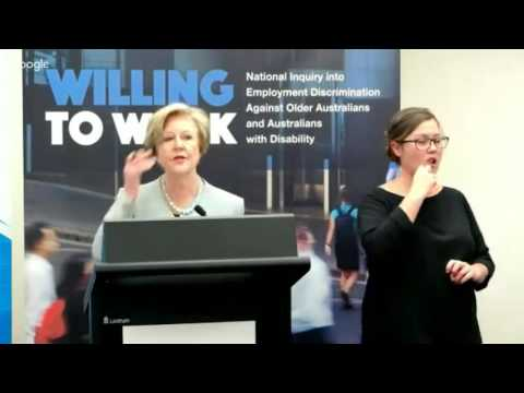 Willing to Work report launch