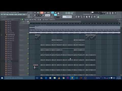 Nasty C king Instrumental Remake   Fl Studio