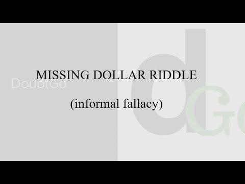 Missing Dollar Riddle - 99% People Fail To Solve It