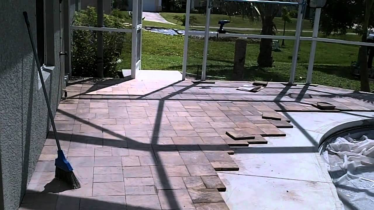 tuscan paving stone - pool coping and paver deck installation