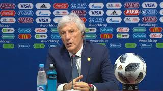 fifa world cup 2018 colombia v japan - colombia post-match press conference