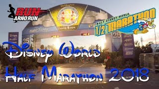 Run Disney World Half Marathon - Dopey Challenge 2018