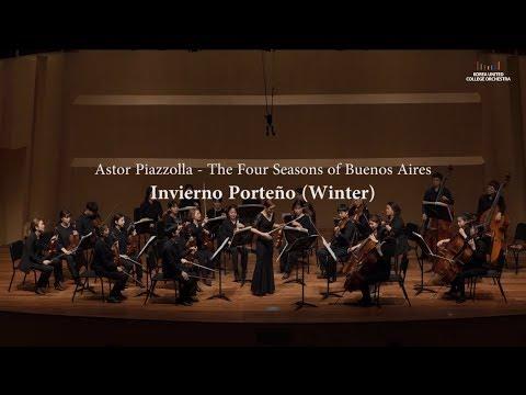 Piazzolla - The Four Seasons of Buenos Aires, Invierno Porteño (Violin: Ella Chang)