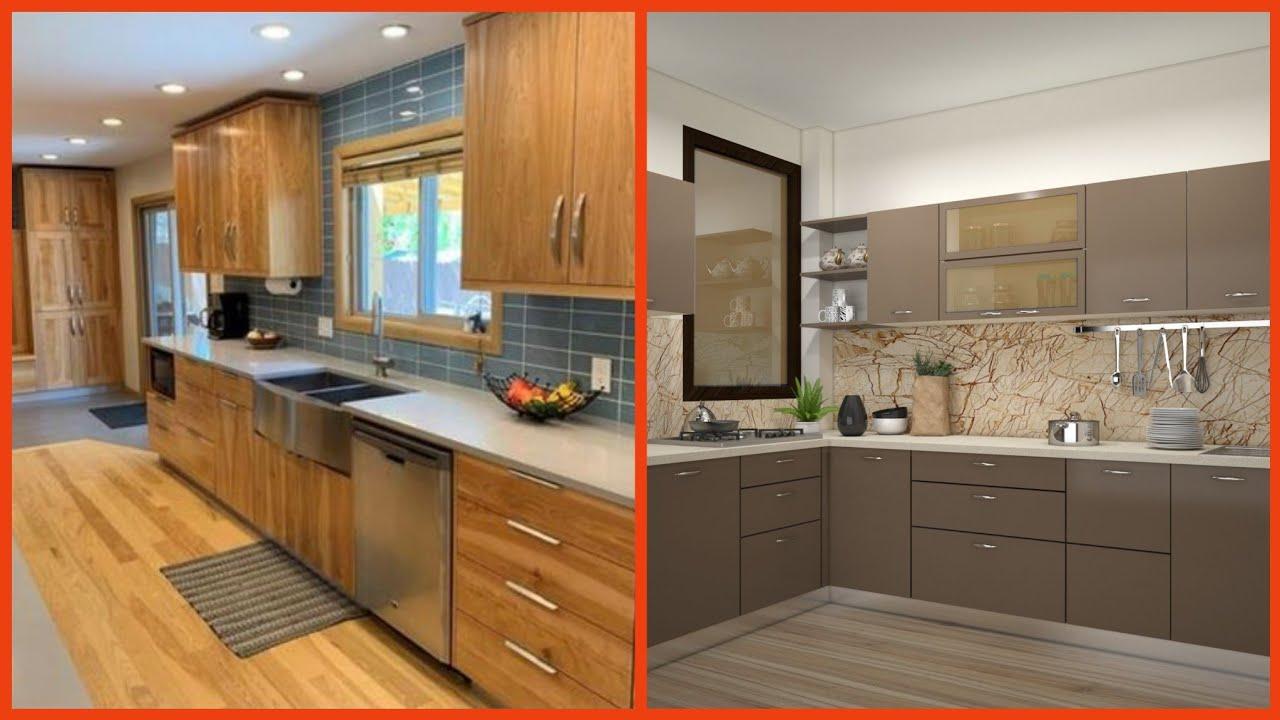 Small Kitchen Design Kitchen Interior Design Small Space Modular Kitchen Youtube