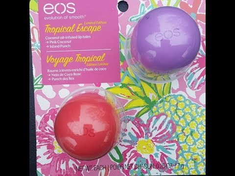 New Spring Eos Lip Balm Sets First Impressions