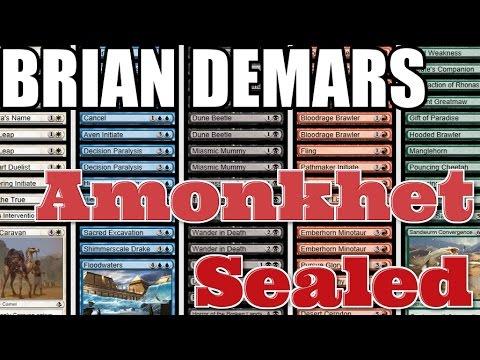 Channel DeMars - Amonkhet Sealed (Deckbuilding & Match 1)