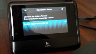 Squeezebox Touch - Squeezebox Server et disque dur USB -