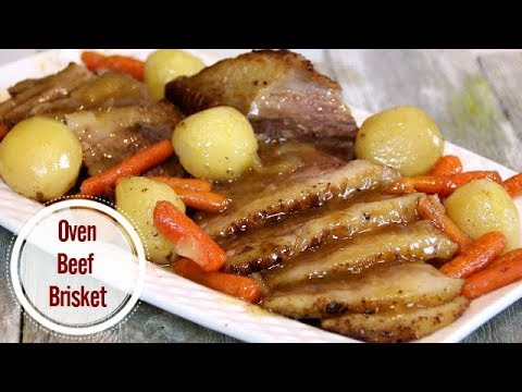 Oven Baked Beef Brisket Made Easy And Simple