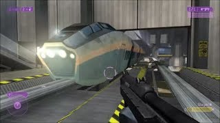Halo 2 - Can You Stop The Train On Terminal?