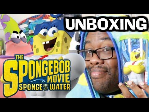 SPONGEBOB MOVIE UNBOXING - Sponge Out of Water : Black Nerd