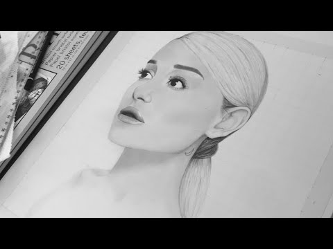How to draw Ariana Grande 🌸😍