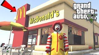 McDONALD'S IN LOS SANTOS!!! GTA 5
