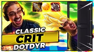 SUPER SAIYAN CRITDYR HARD CARRIES THE GAME!!!! | CLASSIC DOTDYR