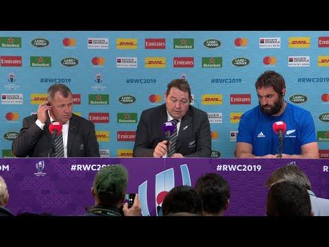 Hansen and Whitelock on New Zealand's win over Namibia