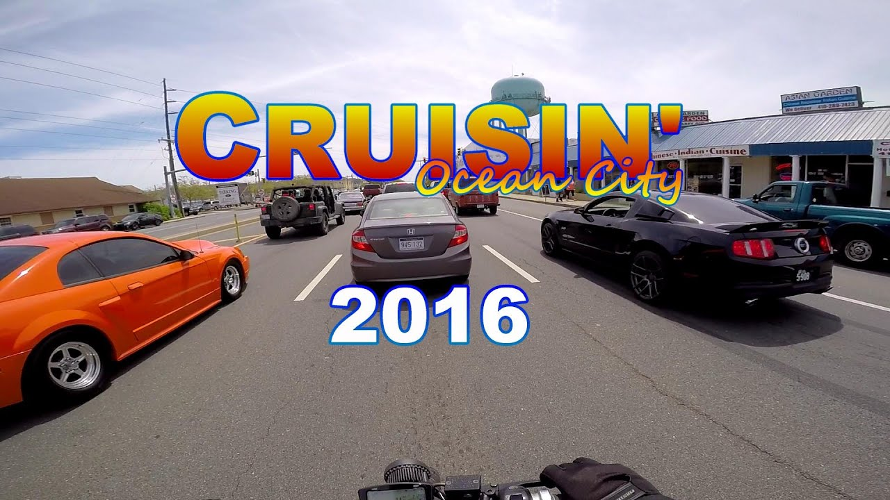 Cruisin Oc 2016 By Scooter Oc2k16 Ocean City Md Cruise Week Car Show You