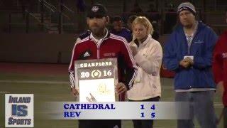 boys soccer rev vs cathedral