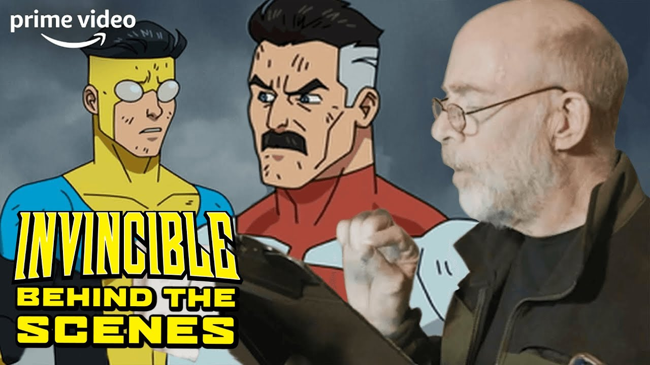 Voiceover Recording With J.K. Simmons, Steven Yeun & Sandra Oh | Invincible BTS | Prime Video