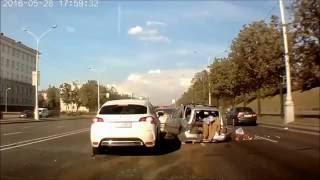 Подборка аварий Беларусь 2016