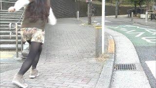 全力坂 №1851 東大井四丁目の坂 水原ゆき 池見典子 動画 18