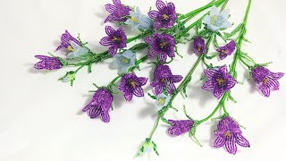 Мастер класс Колокольчики из бисера Цветы из бисера Beadwork Art