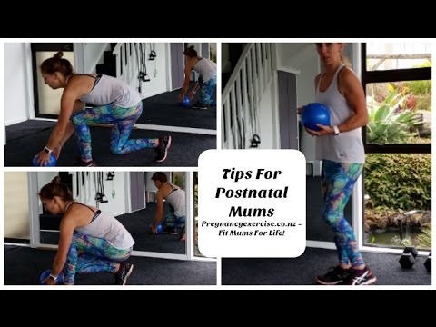 POSTNATAL EXERCISE FOR NEW MUMS