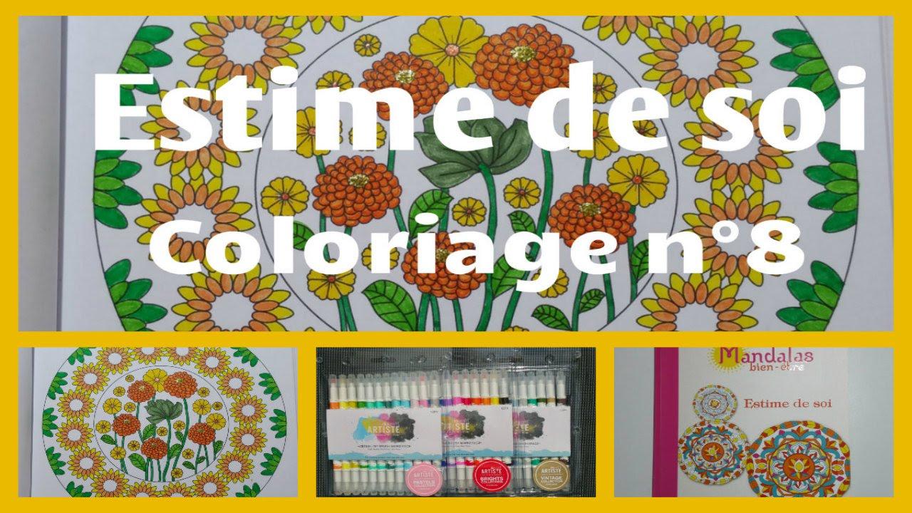 Mandalas bien ªtre Estime de soi Coloriage n°8
