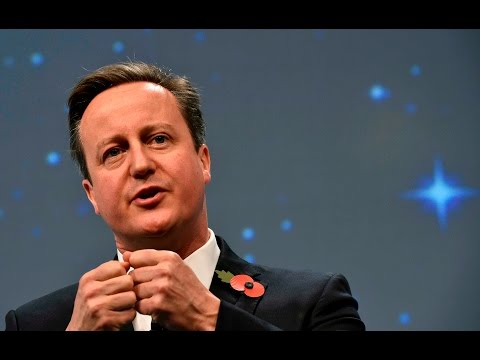 David Cameron speech on EU reform - live