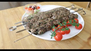 Mediterranean diet 🍴Lamb Kabab recipe 🍴tasty lamb kabob skewers