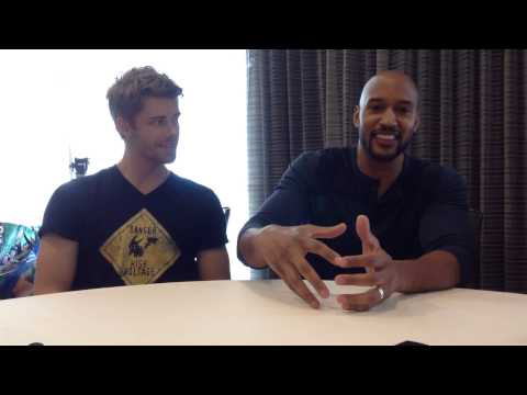 MARVEL'S AGENTS OF SHIELD's Luke Mitchell & Henry Simmons on Lincoln and Mack