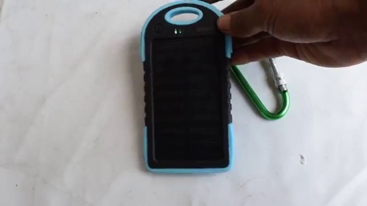 Power Bank Panel Surya Details Review Youtube