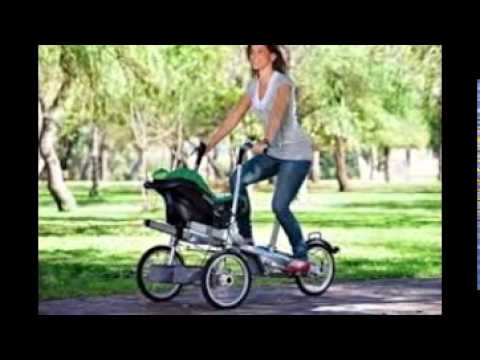 Bicycle Stroller - YouTube