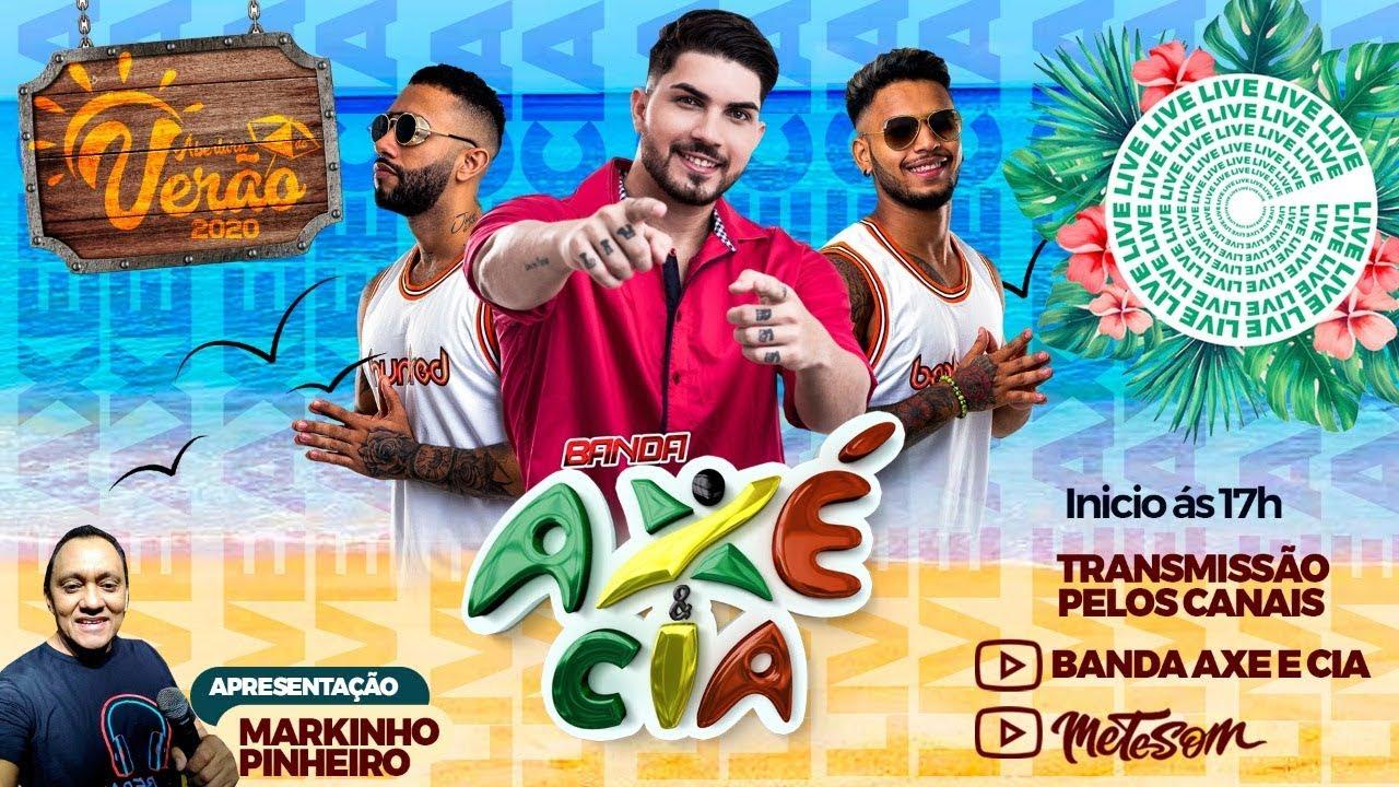 🔴 Live Banda Axé & Cia | #FiqueEmcasa e cante #comigo
