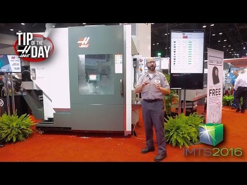 Haas Tip of the Day – LIVE from IMTS in Chicago!