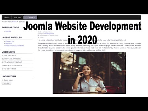 Making Website In Joomla 3.9.14